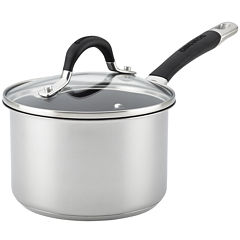 Circulon® Momentum 2-qt. Stainless Steel Nonstick Saucepan with Lid