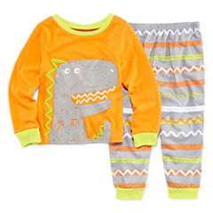 2-pc. Kids Dino Pajama Set Boys