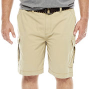 The Foundry Big & Tall Supply Co. Twill Cargo Shorts