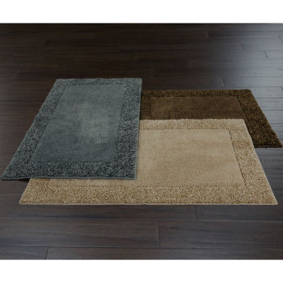 Superior JCPenney Home™ Shag Border Rug Collection