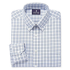 Stafford® Executive Long-Sleeve Pinpoint Oxford Dress Shirt - Big & Tall