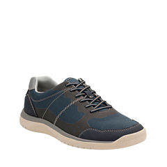 Clarks® Votta Edge Mens Casual Lace-Up Shoes