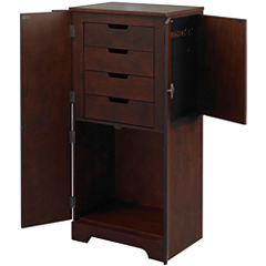 Linon Home Décor Victoria Jewelry Armoire