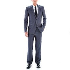JF J. Ferrar® Grey Luster Herringbone Suit Separates - Classic