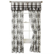 Home Expressions™ Rosetti Floral 2-Pack Curtain Panels