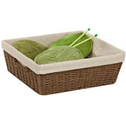 Honey-Can-Do® Paper Rope Basket with Liner
