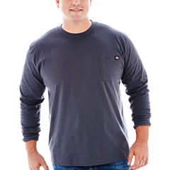 Dickies® Heavyweight Long-Sleeve Pocket Tee–Big & Tall