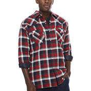Ely Cattleman® Flannel Shirt Jacket - Tall