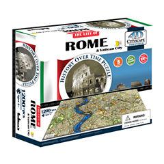 4D Cityscape 4D Cityscape Time Puzzle - Rome; Italy