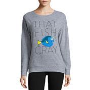 Finding Dory Brushed Fleece Sweatshirt- Juniors