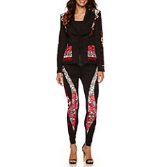 Bisou Bisou Seamed Jacket or Seamed Piped Leggings