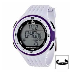 Rbx Unisex White Strap Watch-Rbxhr001wt