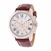 Xtreme Time Mens Silver Tone Bracelet Watch-Nwl386536br