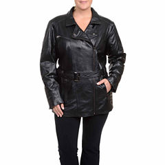 Excelled Belted Jacket - Plus