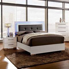 Isabella Modern 3-pc. Bedroom Set