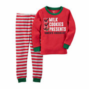 Carter's Boys Long Sleeve Pant Pajama Set-Baby