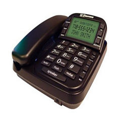 Emerson EM2650BK Big Button Speakerphone with CID - Black