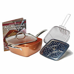 As Seen On TV Copper Chef 5-pc. Deep Dish Cookware Set