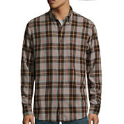 St. John's Bay® Long-Sleeve Classic-Fit Flannel Shirt