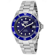 Invicta Mens Silver Tone Bracelet Watch-9094ob
