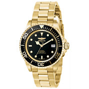 Invicta Mens Gold Tone Bracelet Watch-8929ob