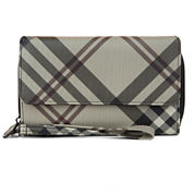 Mundi Big Fat Plaid Wallet