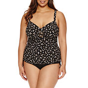 Trimshaper®  Galaxy Cara Tankini or Side Tie Hipster- Plus