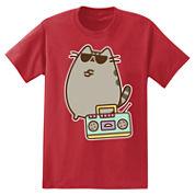 Pusheen Boom Box T-Shirt
