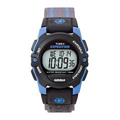 Timex® Expedition® Gray Nylon Fast Strap Digital Watch T496609J