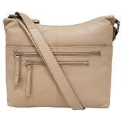 east 5th Leather Zip Crossbody Bag