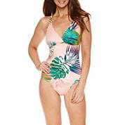 Liz Claiborne Tropical Solution Coverup or Swimsuit
