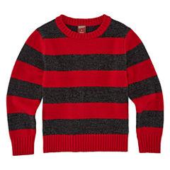 Arizona Crew Neck Long Sleeve Pullover Sweater - Preschool 4-7