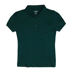 French Toast® Trimmed Fitted Polo Shirt - Girls 7-20 and Plus