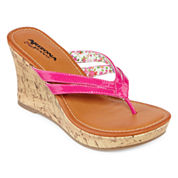 Arizona Holly Wedge Sandals