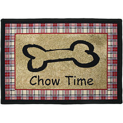 PB Paws by Park B. Smith® Chow Time Tapestry Pet Mat