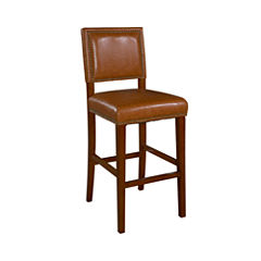 Archer Upholstered Barstool with Back
