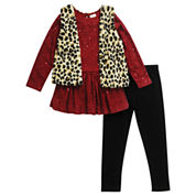 Young Land Girls Legging Set-Preschool
