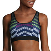 Xersion Medium Chevron Print Bra