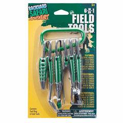 Backyard Safari 6 In 1 Field Tools 7-pc. Toy Tools