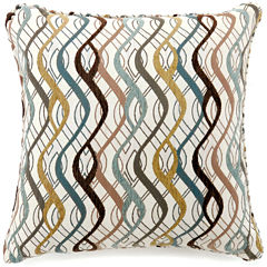 Vivienne Small Poly Decorative Square Throw Pillow