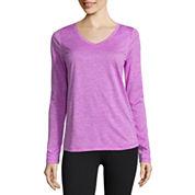Xersion Long Sleeve V Neck T-Shirt
