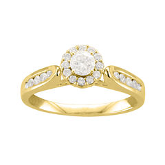 1/2 CT. T.W. Diamond 14K Yellow Gold Ring