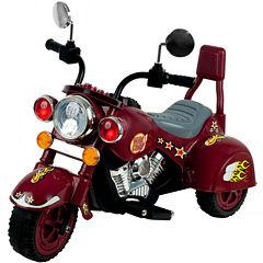 Lil' Rider 3-Wheeler Maroon Marauder Ride-On Motorcycle