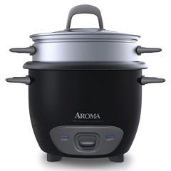 Aroma ARC-743-1NGB 6-Cup Pot Style Rice Cooker