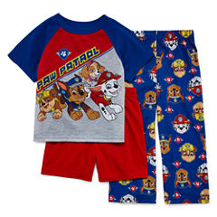 Paw Patrol 3-pc. Pajama Set- Toddler Boys 2t-4t