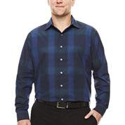 Van Heusen Long Sleeve Engineered & Printed Wovens- Big & Tall