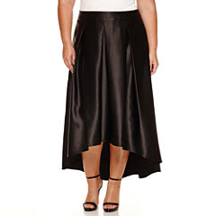 Boutique + A-Line Skirt-Plus