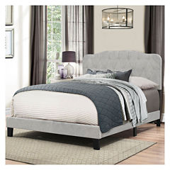 Bedroom Possibilities Charlotte Upholstered Bed