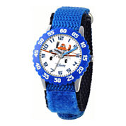 Disney Planes Dusty Crophopper Time Teacher Kids Blue Strap Watch