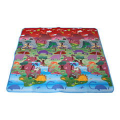 Prince Lionheart® Reversible playMAT - City/Dino